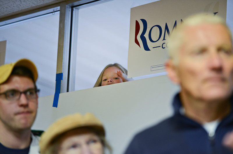 Matt Romney in Longmont