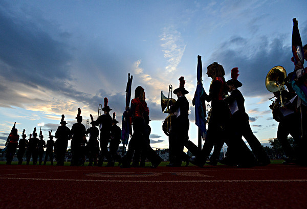 St. Vrain Valley Band Night 2012