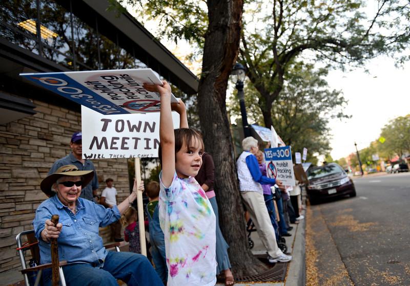 Hickenlooper Fracking Meeting