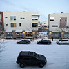Snow fills the streets in Longmont's Prospect neighborhood on Friday, Jan. 11, 2013.<br /> (Greg Lindstrom/Times-Call)