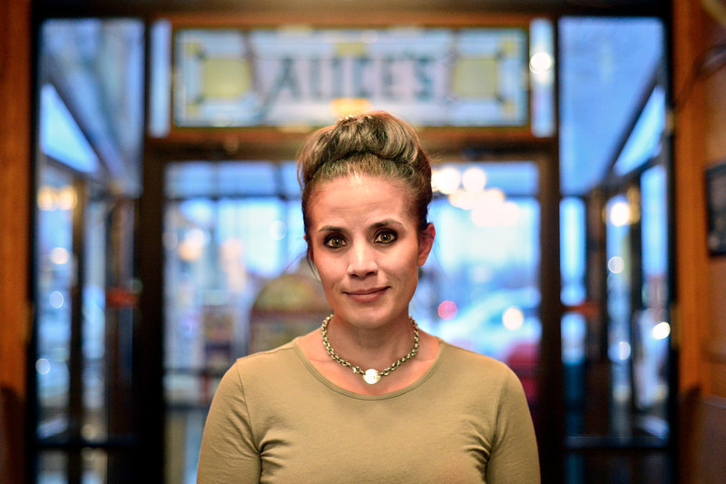 Danielle Price, manager at Aunt Alice's Kitchen, is pictured in Longmont on Tuesday, Feb. 19, 2013.<br /> (Greg Lindstrom/Times-Call)