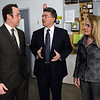 From left: Chief operating officer Doug Smith gives a tour to U.S. Rep. Cory Gardner, R-Yuma, and state senator Vicki Marble, R-Fort Collins, of Magpul Industries Corp., in Erie, Thursday morning Feb. 21, 2013. (Lewis Geyer/Times-Call)