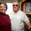 Bob and DiAnn Wayland are pictured in the food pantry where they volunteer at Bible Baptist Church of Erie on Saturday, March 2, 2013.<br /> (Greg Lindstrom/Times-Call)