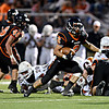 """Erie's Pedro Anderson runs past the Mead defense in the first half.  Erie beat Mead 24-0 on Friday, Sept. 21, 2012.  For more photos visit  <a href=""""http://www.BoCoPreps.com"""">http://www.BoCoPreps.com</a>.<br /> (Greg Lindstrom/Times-Call)"""