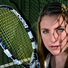 Niwot junior Erin Mulshine is pictured at the tennis court at Niwot High School on Wednesday, Feb. 27, 2013.<br /> (Greg Lindstrom/Times-Call)