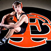 William Schell is pictured at Erie High School on Tuesday, Feb. 19, 2013. Schell qualified for the state wrestling meet in the 145-pound weight class.<br /> (Greg Lindstrom/Times-Call)
