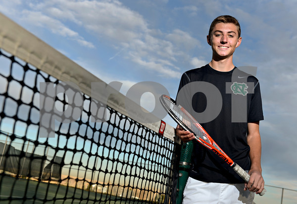 Niwot's Harrison Lang poses for a portrait at Niwot High School on Monday, Nov. 19, 2012.<br /> (Greg Lindstrom/Times-Call)