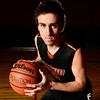 Mead High School's Ryan Lozinski poses for a portrait, Wednesday, Jan. 16, 2013, at MHS. Lozinski is among the best scorers in Class 4A basketball.<br /> (Matthew Jonas/Times-Call)