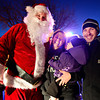 Santa Run with the Frederick-Firestone Fire Protection District on Wednesday, Dec. 19, 2012.  <br /> (Greg Lindstrom/Times-Call)
