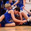 "Frederick's Ryan Miller and Poudre's Sawyer Finley compete for a loose ball during the game at Frederick High School on Wednesday, Nov. 28, 2012.  Frederick beat Poudre 53-51.  For more photos visit  <a href=""http://www.BoCoPreps.com"">http://www.BoCoPreps.com</a>.<br /> (Greg Lindstrom/Times-Call)"