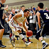 "Frederick's Lucas Adams (3) sets up to take a charge against Silver Creek's Trey Fleming during the game at Silver Creek High School on Friday, Dec. 14, 2012. For more photos visit  <a href=""http://www.BoCoPreps.com"">http://www.BoCoPreps.com</a>.<br /> (Greg Lindstrom/Times-Call)"