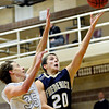 "Frederick's Alex Therrien (20) goes up for a shot during the game at Silver Creek High School on Friday, Dec. 14, 2012. For more photos visit  <a href=""http://www.BoCoPreps.com"">http://www.BoCoPreps.com</a>.<br /> (Greg Lindstrom/Times-Call)"
