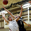 "Silver Creek's Zane Lindsey (11) and Frederick's Chris Burgess (1) compete for a rebound during the game at Silver Creek High School on Friday, Dec. 14, 2012. For more photos visit  <a href=""http://www.BoCoPreps.com"">http://www.BoCoPreps.com</a>.<br /> (Greg Lindstrom/Times-Call)"