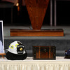 The funeral of retired Longmont firefighter Lynn Huff Friday morning Feb. 15, 2013 at LifeBridge Christian Church. (Lewis Geyer/Times-Call)