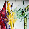 """Gamma Acosta's painting, """"Crayons,"""" in Longmont on Monday, Dec. 24, 2012. The mural painted by Acosta is a tribute to Sandy Hook. The wall is being cut out to preserve the artwork. For more photos and a video visit  <a href=""""http://www.TimesCall.com"""">http://www.TimesCall.com</a>.<br /> (Greg Lindstrom/Times-Call)"""