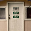 "The call sign for Sebastian Wessels, NS0W, is seen on the top of the door to his ""HAM Shack"", Tuesday, Jan. 15, 2013, in Longmont.<br /> (Matthew Jonas/AP PHOTO/Longmont Times-Call)"