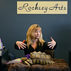 """20121121_TURTLE_020.jpg Sheila Rockley, author of """"Lucy the Tortoise: My Big Adventure,"""" describes her tortoise, Lucy, during a book signing event at Rockley Arts in Westminster on Wednesday, Nov. 21, 2012. For more photos visit  <a href=""""http://www.TimesCall.com"""">http://www.TimesCall.com</a>.<br /> (Greg Lindstrom/Times-Call)"""