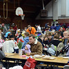The filled gymnasium at Pioneer Elementary during the 17th annual Oatmeal Festival in Lafayette Saturday morning Jan. 12, 2013. (Lewis Geyer/Times-Call)
