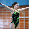 Niwot's Carina Watkins prepares to make a dive during the All City Invitational swim meet at Centennial Pool Saturday, Jan. 19, 2013. (Lewis Geyer/Times-Call)