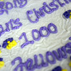 The cake served during the Longmont Christian Men's Fellowship Wednesday morning Feb. 13, 2013 at the Longmont Senior Center. The group started in 1993. (Lewis Geyer/Times-Call)