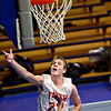 "Faith Baptist's Anthony Pavlov (22) watches his shot over Longmont Christian's Cade Martin during the game at the St. Vrain Memorial Building in Longmont on Friday, Nov. 30, 2012. Longmont Christian won 66-46. For more photos visit  <a href=""http://www.BoCoPreps.com"">http://www.BoCoPreps.com</a>.<br /> (Greg Lindstrom/Times-Call)"