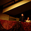 "Dalton Aker and his sister Aly Aker watch from a balcony during a dress rehearsal Monday, Feb. 18, 2013, for Longmont High School's production of ""The Sound of Music,"" the first musical in the new auditorium. Performances are scheduled at 7 p.m. Feb. 22, Feb. 23, March 1 and March 2 at the high school, 1040 Sunset St., Longmont. For more photos and a video, visit  <a href=""http://www.TimesCall.com"">http://www.TimesCall.com</a>.<br /> (Greg Lindstrom/Times-Call)"