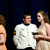 "Alex Weber, center, playing Capt. Georg von Trapp, performs during a dress rehearsal Monday, Feb. 18, 2013, for Longmont High School's production of ""The Sound of Music,"" the first musical in the new auditorium. Performances are scheduled at 7 p.m. Feb. 22, Feb. 23, March 1 and March 2 at the high school, 1040 Sunset St., Longmont. For more photos and a video, visit  <a href=""http://www.TimesCall.com"">http://www.TimesCall.com</a>.<br /> (Greg Lindstrom/Times-Call)"