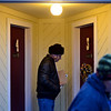 "Volunteers Frank Tonge, center, and Susan Halkin conduct Metropolitan Denver Homeless Initiative's point-in-time survey at the Countrywood Inn & RV Park in Longmont on Monday, Jan. 28, 2013. The survey provides a snapshot of homelessness in seven counties along the Front Range. For more photos visit  <a href=""http://www.TimesCall.com"">http://www.TimesCall.com</a>.<br /> (Greg Lindstrom/Times-Call)"