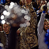 """Longmont fans cheer after a Trojan touchdown during the game at Longmont High School on Friday, Nov. 2, 2012. Longmont beat Greeley Central 42-25. For more photos visit  <a href=""""http://www.BoCoPreps.com"""">http://www.BoCoPreps.com</a>.<br /> (Greg Lindstrom/Times-Call)"""