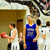 "Longmont's Kevin Mitchell (34) reacts after a play late in the game at D'Evelyn High School on Saturday, March 2, 2013. Longmont lost to D'Evelyn 72-58. For more photos visit  <a href=""http://www.BoCoPreps.com"">http://www.BoCoPreps.com</a>.<br /> (Greg Lindstrom/Times-Call)"