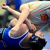 """Longmont's Ivan Wolf competes against Greeley Central's Steven McDonald during the wrestling meet at Longmont High School on Thursday, Dec. 6, 2012. For more photos visit  <a href=""""http://www.BoCoPreps.com"""">http://www.BoCoPreps.com</a>.<br /> (Greg Lindstrom/Times-Call)"""