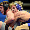 "Longmont's Forrest Wetterstrom competes against Greeley Central's Logan Yeadon during the wrestling meet at Longmont High School on Thursday, Dec. 6, 2012. For more photos visit  <a href=""http://www.BoCoPreps.com"">http://www.BoCoPreps.com</a>.<br /> (Greg Lindstrom/Times-Call)"