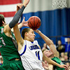 "Longmont's RJ Donaldson (11) battles for a rebound with Niwot's Clarke Colwell, left, and Nate Merriman during the game at Longmont High School on Friday, Jan. 11, 2013. Longmont beat Niwot 50-46. For more photos visit  <a href=""http://www.BoCoPreps.com"">http://www.BoCoPreps.com</a>.<br /> (Greg Lindstrom/Times-Call)"