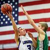 "Longmont's Felipe Alaniz (3) goes up for a shot against a Niwot defender during the game at Longmont High School on Friday, Jan. 11, 2013. Longmont beat Niwot 50-46. For more photos visit  <a href=""http://www.BoCoPreps.com"">http://www.BoCoPreps.com</a>.<br /> (Greg Lindstrom/Times-Call)"
