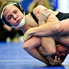 """Silver Creek's Mitch Webster holds Longmont's Ivan Wolf during the wrestling meet at Longmont High School on Thursday, Dec. 13, 2012. For a more photos visit  <a href=""""http://www.BoCoPreps.com"""">http://www.BoCoPreps.com</a>.<br /> (Greg Lindstrom/Times-Call)"""