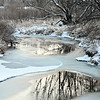 Snow along the St. Vrain Greenway in Longmont on Tuesday, Dec. 25, 2012. <br /> (Greg Lindstrom/Times-Call)