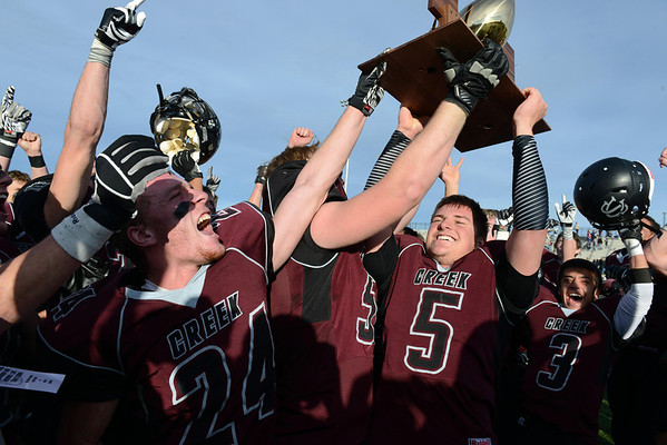 Silver Creek were Class 3A champs in 2012.<br /> (Lewis Geyer/Times-Call)