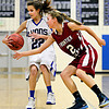 "Lyons' Lauren Simms (22) is defended by Frontier Academy's Alexa Rose (2) during the game at Lyons High School on Thursday, Jan. 17, 2013. Frontier Academy beat Lyons 67-40. For more photos visit  <a href=""http://www.BoCoPreps.com"">http://www.BoCoPreps.com</a>. <br /> (Greg Lindstrom/Times-Call)"