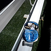 "A bag of make-up sits on a bench near the Mead sideline.  Mead lost to St. Mary's 21-20 during the varsity football game at Mead High School on Friday, Sept. 7, 2012.  For more photos visit  <a href=""http://www.TimesCall.com"">http://www.TimesCall.com</a>.<br /> (Greg Lindstrom/Times-Call)"