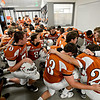 "Mead players join in a prayer before the game.  Mead lost to St. Mary's 21-20 during the varsity football game at Mead High School on Friday, Sept. 7, 2012.  For more photos visit  <a href=""http://www.TimesCall.com"">http://www.TimesCall.com</a>.<br /> (Greg Lindstrom/Times-Call)"