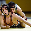 "Frederick's Dylan Shoop, right, competes against Mead's Justice Lovato during the match at Frederick High School on Thursday, Jan. 10, 2013. For more photos visit  <a href=""http://www.BoCoPreps.com"">http://www.BoCoPreps.com</a>.<br /> (Greg Lindstrom/Times-Call)"
