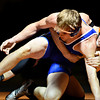 """Longmont's Forrest Wetterstrom and Mead's Kyle Couch compete during the dual meet at Mead High School on Wednesday, Feb. 6, 2013. For more photos visit  <a href=""""http://www.BoCoPreps.com"""">http://www.BoCoPreps.com</a>.<br /> (Greg Lindstrom/Times-Call)"""