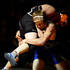"Longmont's Forrest Wetterstrom and Mead's Kyle Couch compete during the dual meet at Mead High School on Wednesday, Feb. 6, 2013. For more photos visit  <a href=""http://www.BoCoPreps.com"">http://www.BoCoPreps.com</a>.<br /> (Greg Lindstrom/Times-Call)"