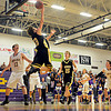 "Monarch's Jay MacIntyre (33) goes up for a shot during the game at Boulder High School on Tuesday, Jan. 8, 2013. Monarch beat Boulder 51-49. For more photos visit  <a href=""http://www.BoCoPreps.com"">http://www.BoCoPreps.com</a>.<br /> (Greg Lindstrom/Times-Call)"
