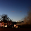 20130118_NIWOT_FIRE_6972.jpg Firefighters work to contain a fire in a barn, Friday, Jan. 18, 2013, in Niwot.<br /> (Matthew Jonas/Times-Call)