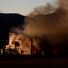 20130118_NIWOT_FIRE_6933.jpg Firefighters work to contain a fire in a barn, Friday, Jan. 18, 2013, in Niwot.<br /> (Matthew Jonas/Times-Call)