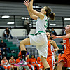 "Anna Dunnell (32) goes up for a shot over Denver West defenders during the game at Niwot High School on Friday, Dec. 7, 2012. Niwot won 44-33. For more photos visit  <a href=""http://www.BoCoPreps.com"">http://www.BoCoPreps.com</a>.<br /> (Greg Lindstrom/Times-Call)"