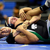 "Longmont's Drake Greeott, top, competes against Niwot's Cristian Ramirez during the dual meet at Longmont High School on Thursday, Jan. 31, 2013. For more photos visit  <a href=""http://www.BoCoPreps.com"">http://www.BoCoPreps.com</a>.<br /> (Greg Lindstrom/Times-Call)"