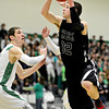 """Silver Creek's Luke Goforth (32) goes up for a shot during the game at Niwot High School on Tuesday, Jan. 15, 2013. Silver Creek beat Niwot 68-55. For more photos from the game visit  <a href=""""http://www.BoCoPreps.com"""">http://www.BoCoPreps.com</a>.<br /> (Greg Lindstrom/Times-Call)"""