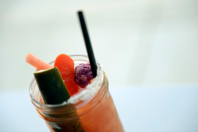 Comida's Bloody Maria Friday April 27, 2012. (Lewis Geyer/Times-Call)